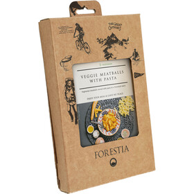 "Forestia Heater Outdoor Maaltijd Vegetarisch 350g, Veggie ""Meatballs"" with Pasta"